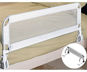 Babyway Portable Compact Fold Bed Rail set up