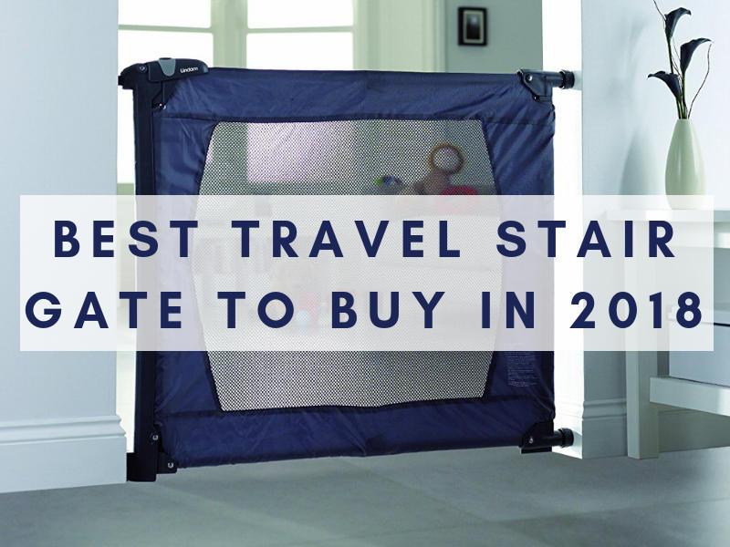 Best travel stair gate image