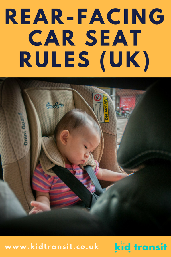Rear facing car seat rules in the UK. Make sure your baby is protected and safe in their rear facing car seat.