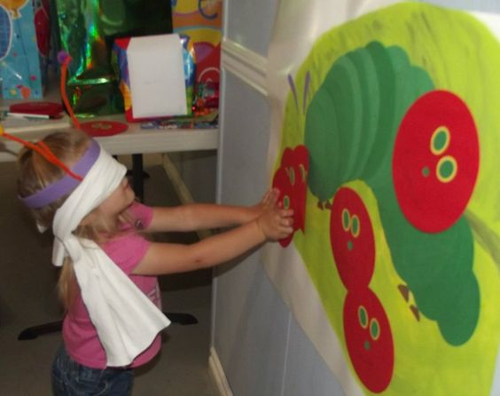 The Very Hungry Caterpillar First Birthday Party Games and Activities