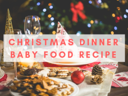 christmas dinner baby food recipe and ideas
