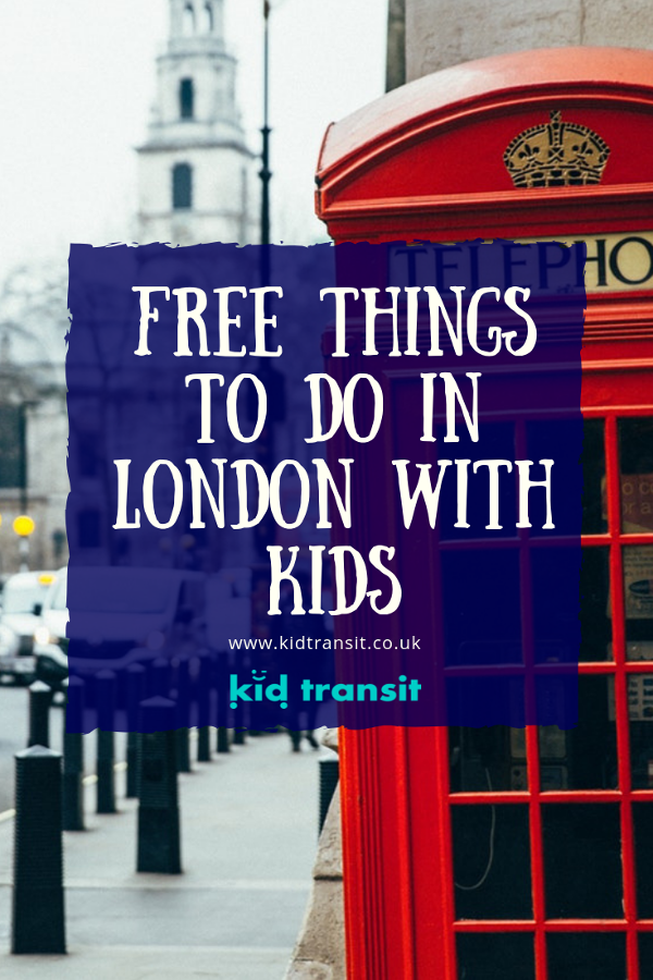 Find all the free and cheap things to do in London with kids