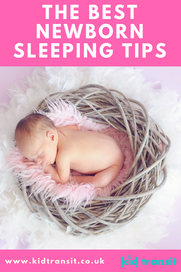 The best tips on how to get a newborn baby to sleep including baby sleep patterns, how mjuch sleep a newborn needs and when a baby will sleep through the night.