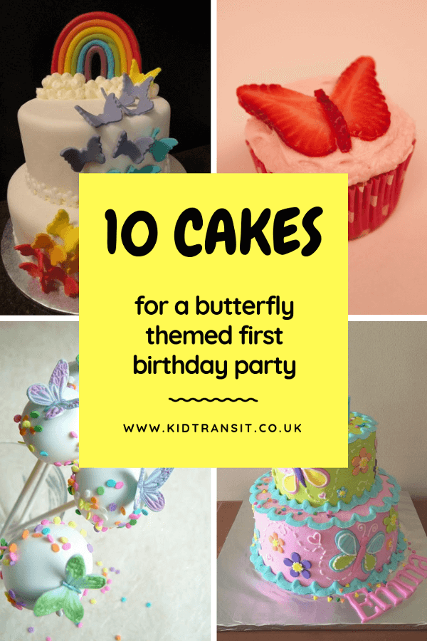 10 butterfly theme cakes for a first birthday party #firstbirthday #butterflyparty #kidsparty #birthdaycake