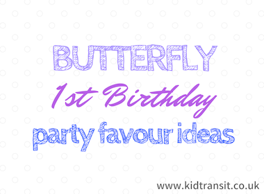 Butterfly Party Favour Ideas