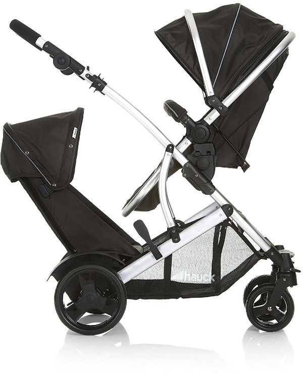 Hauck Duett Tandem Double Pushchair facing each other