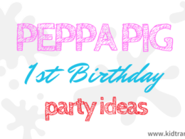 Peppa Pig First Birthday Party Ideas