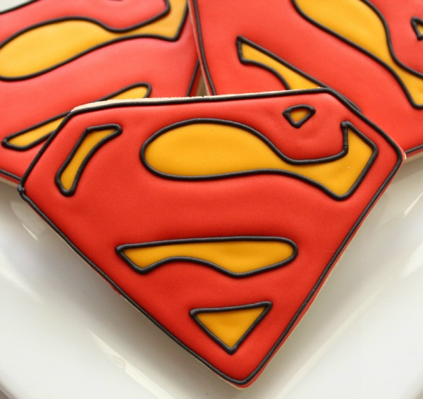 Superhero First Birthday Party Food