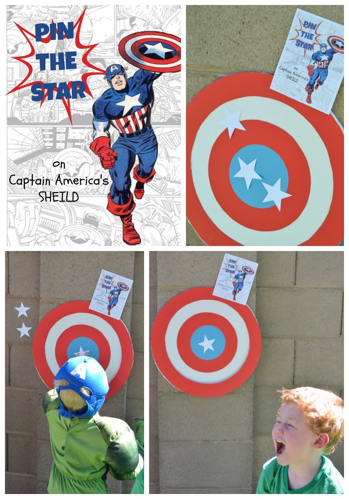 Superhero First Birthday Party Games