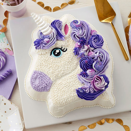 Unicorn First Birthday Party Cakes
