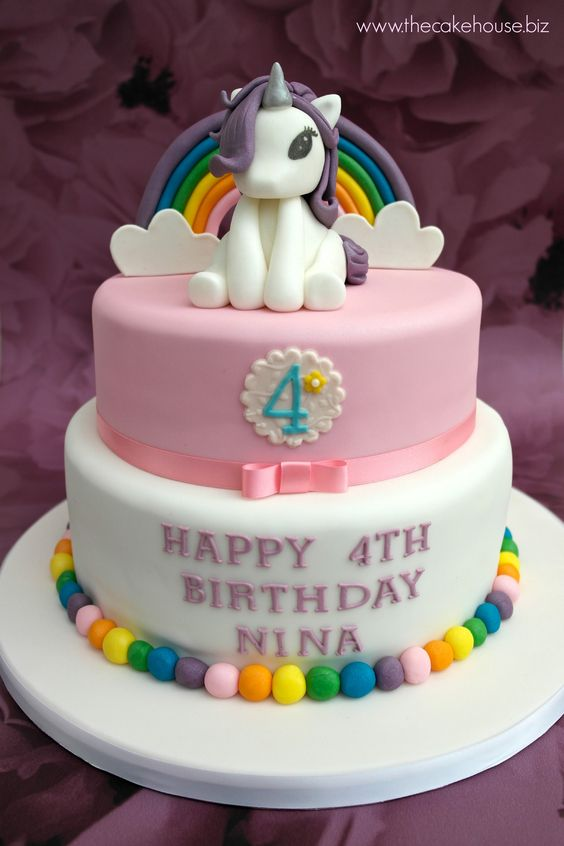 Unicorn-First-Birthday-Party-Cakes