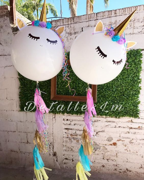 Unicorn First Birthday Party Decor