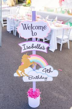 Unicorn First Birthday Party Decorations