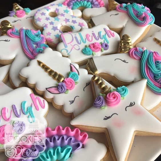 Unicorn First Birthday Party FoodUnicorn First Birthday Party Food