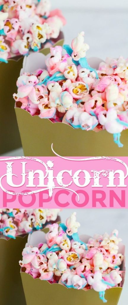 Unicorn First Birthday Party Food