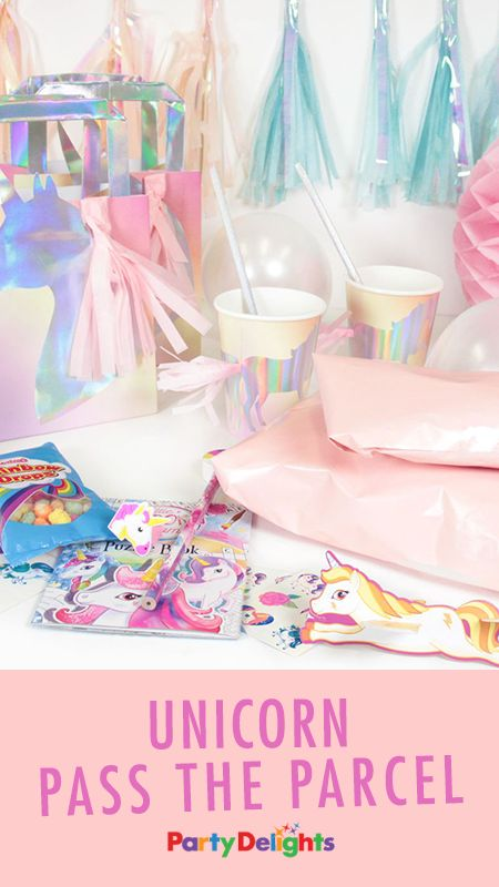Unicorn First Birthday Party Games