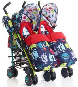 Cosatto Supa Dupa twin stroller