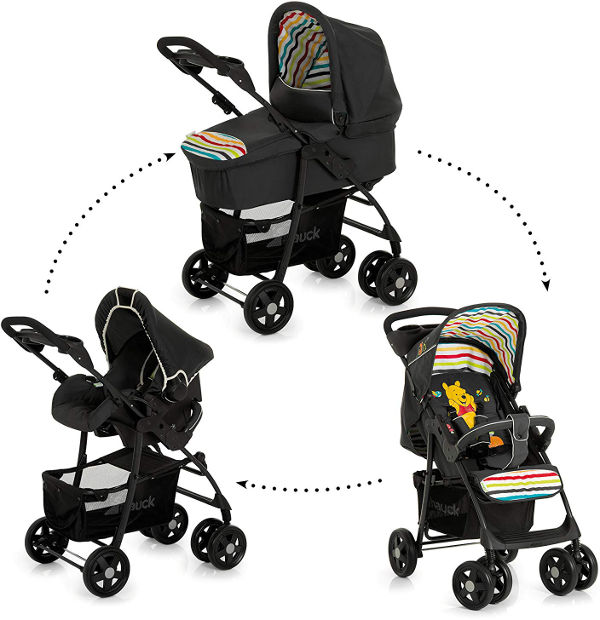 Hauck Disney shopper trio set pushchair options