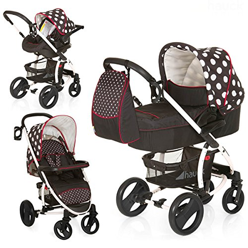 Hauck Malibu travel system buggy options