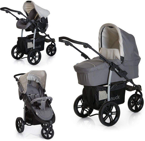 Hauck viper SLX trio set baby travel system stroller options