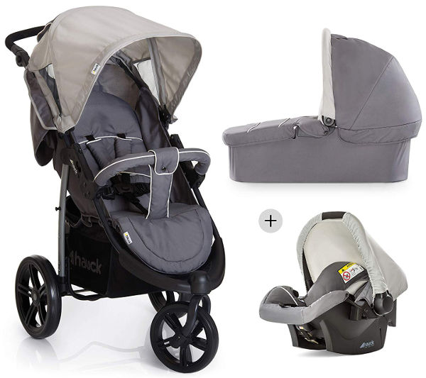 Hauck viper SLX trio set baby travel system