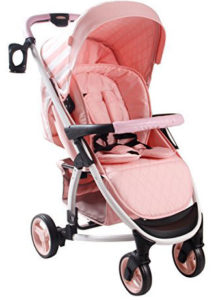 My Babiie MB100 Billie Faiers Pink Sripes Pushchair