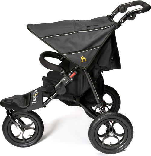 Out N About Nipper 3 wheel Pushchair side