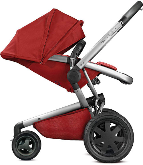 Quinny Buzz Xtra 3 Wheel Pushchair side
