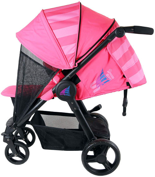Sail Stroller with hood and net screens