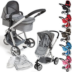 TecTake 3 in 1 stroller combi