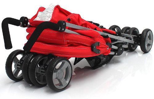 Zeta Voom Stroller folded