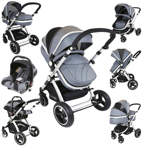 iSafe 3 in 1 baby travel system
