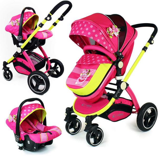 iSafe Mea Lux trio travel system