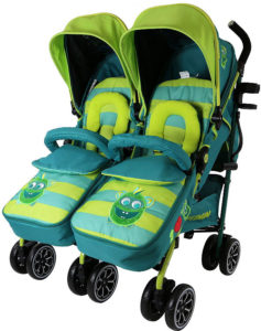 isafe twin optimum double stroller buggy