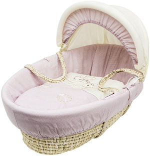 kinder valley daisy boo moses basket