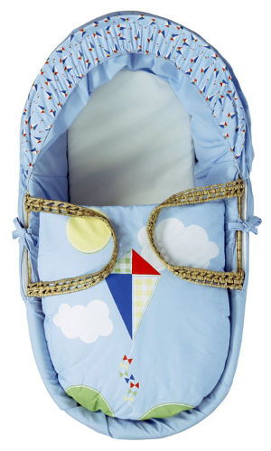 kinder valley kite moses basket top
