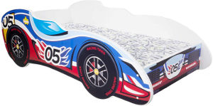 F1 racing car toddler bed