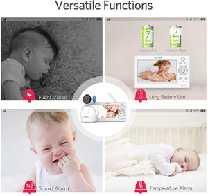 HOMIEE wireless video baby monitor functions