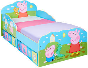 Peppa Pig best girls toddler bed