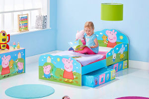 Peppa Pig best girls toddler bed furniture