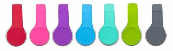 Snug Play+ Kids Headphones colour options