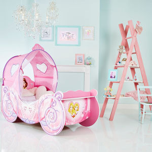 disney princess carriage toddler bed room