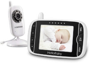 hellobaby hb32 wireless video baby monitor
