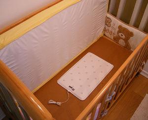 nanny baby breathing respiration monitor pad