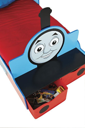 thomas the tank engine toddler bed drawers