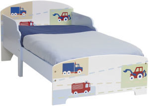 vehicles best boys toddler bed