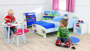 vehicles toddler bed set
