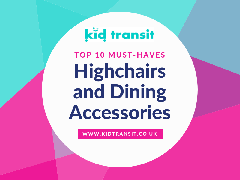 10 must-have highchairs and dining