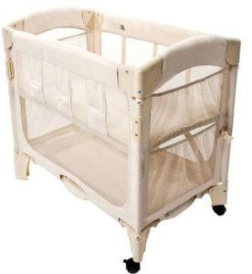 Arms Reach mini co sleeper bassinet