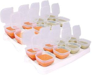 Baby freezer cube trays